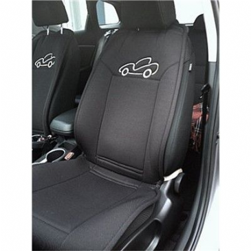 HEATED SEAT COVERS BLACK